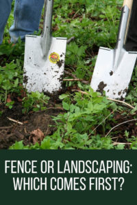 Fence Or Landscaping Which Comes First Privacylink Fencing Blog