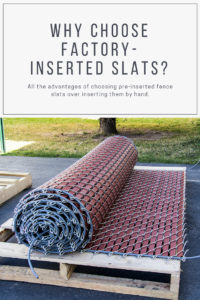 Why Choose Factory-Inserted Slats
