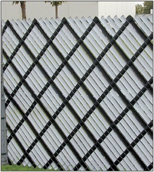 Aluminum Slats for chain link fence privacy