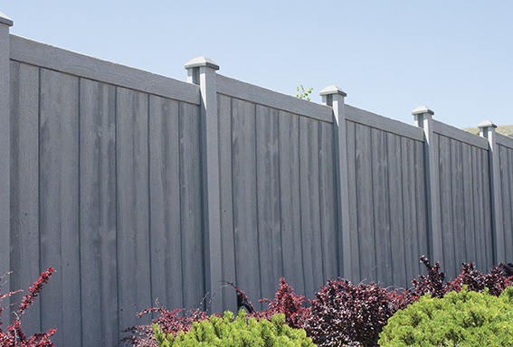 ASHLAND SIMULATED WOOD PRIVACY FENCE