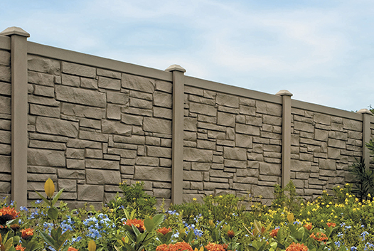 allegheny simulated stone fence
