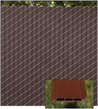 Fin2000® Slats for chain link fence