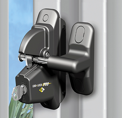 Pro residential gate latch