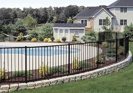Ovation ornamental Pool Fence