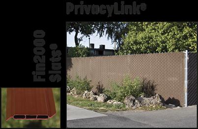 PrivacyLink chain link fence slats
