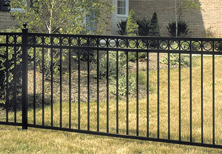 Regency Aluminum Ornamental Fence