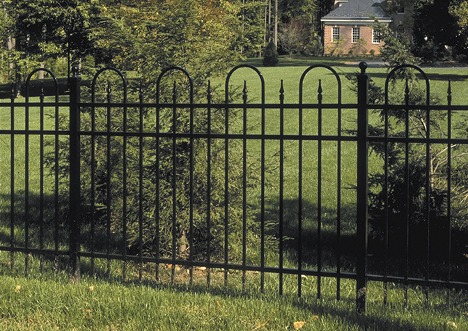 Residential Aluminum Ornamental Fence