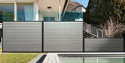 Santa Fe TerraFence composite Fence