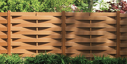 traditional terrafence composite fence