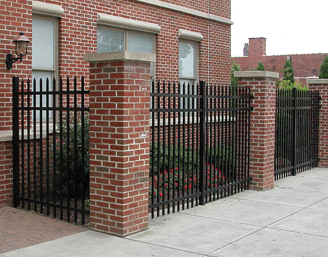 aluminum fence for commercial properties