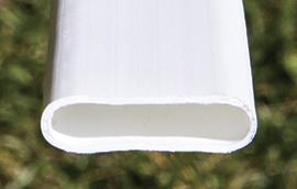 flat noodlelink privacy slat close up