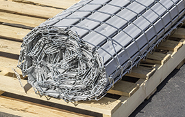 industriallink chain link fence roll