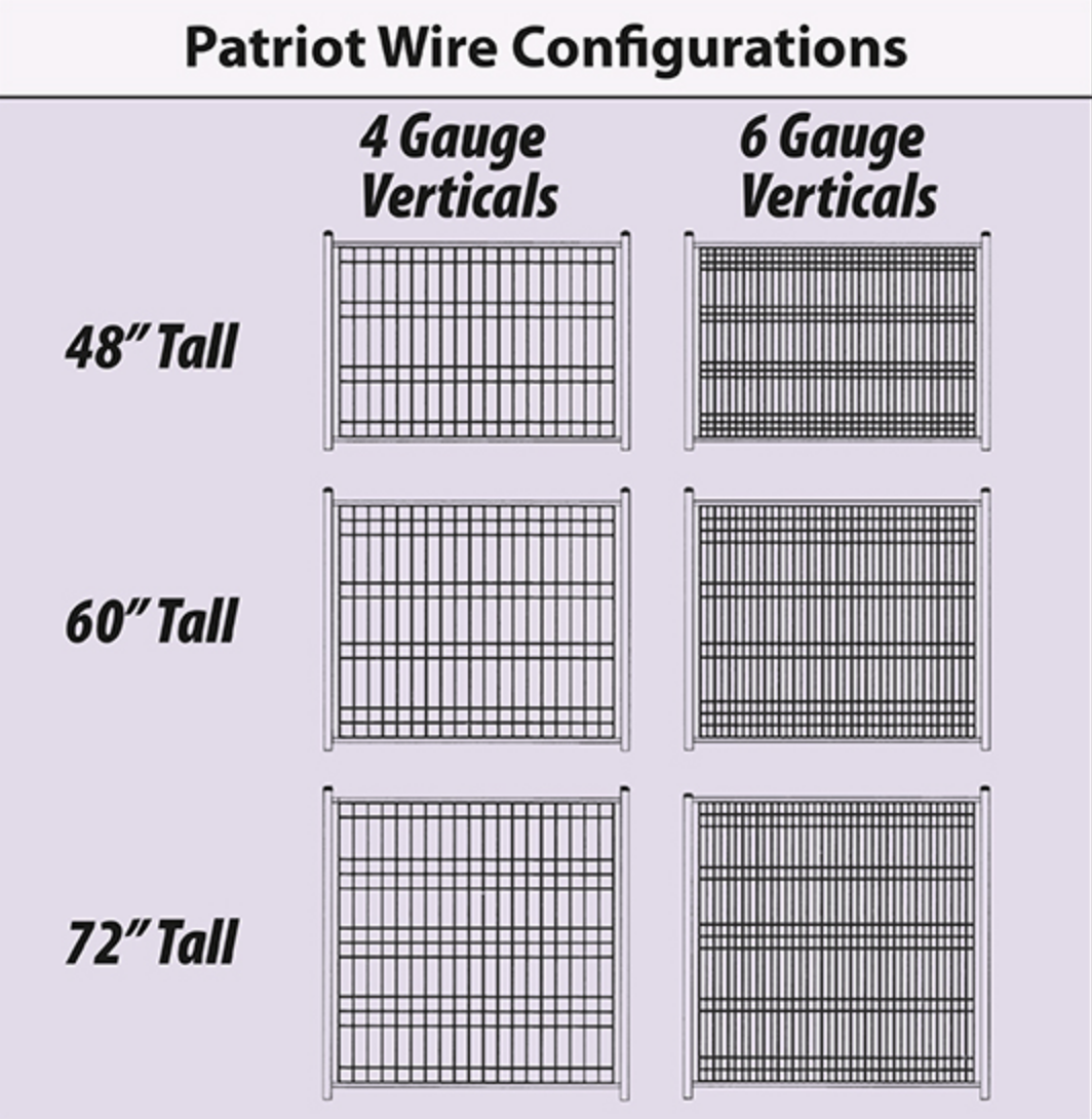 Jerith Patriot™ Welded Wire Fence style guide