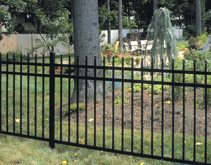 Kensington Regency Aluminum Fence