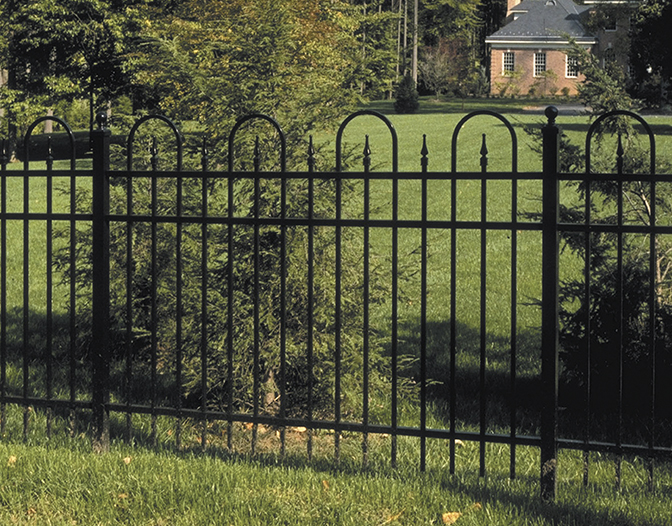 Concord Residential aluminum fence
