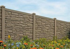 simtek simulated stone fence