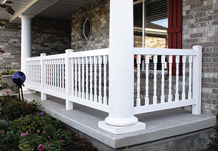 Vinyl Balusters and Railing Systems