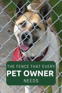 The fence that every pet owner needs
