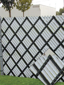 aluminum fence slats for chain link fence