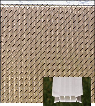 Ultimate slats for chain link fences