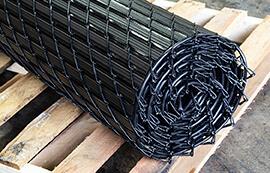 noodlelink plus pre-inserted chain link fence slats