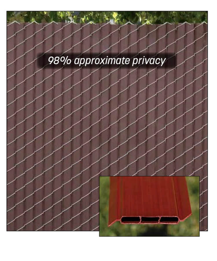 Fin2000® Slats privacy slats for chain link fence