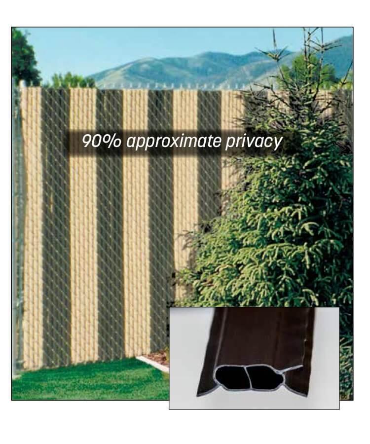FinLink® Slats aluminum chain link fence slats