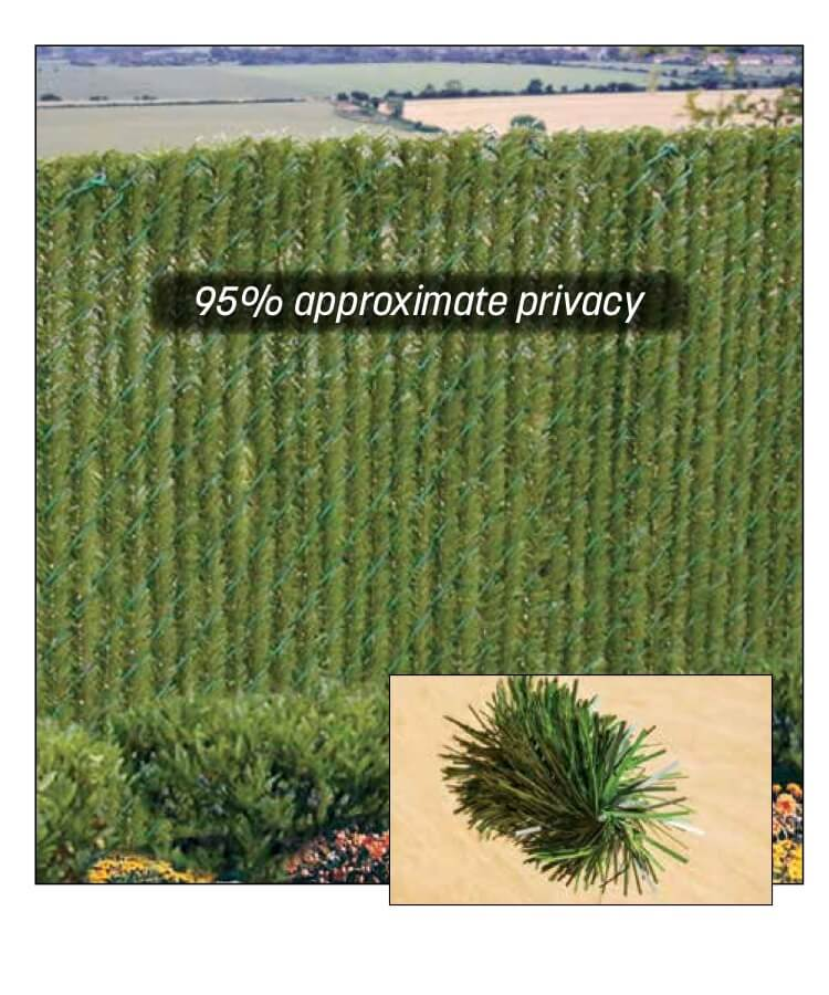 hedgelink greenery slats for chain link fence privacy