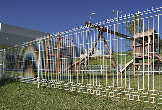 classic welded wire fence
