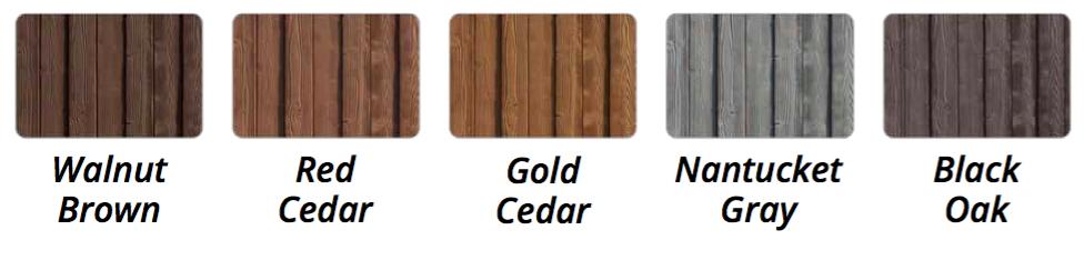 sherwood fence colors