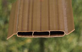 vinylwood end view